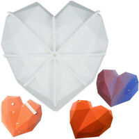 Baking Tool Chocolate Molds Heart Shape Mold Diamond Cake Mold Silicone Mould