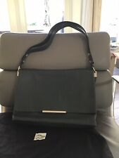 Authentic CELINE Calfskin Leather Blade Bag Emerald Green W/Tags $2600 Pre-owned