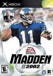 Madden NFL 2002 (Microsoft Xbox, 2001)