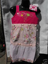 BNWT Pretty Baby Girls Sz 1 Tickled Pink Designer Label Pink/Flowers Dress