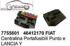 Centralina Portafusibili lancia Y 7755601 46412170 FIAT Lancia Y Ypisilon Punto