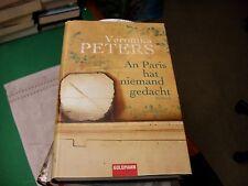 An Paris hat niemand gedacht von Veronika Peters    gebunden
