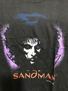 Sandman The Endless Servants Of The Living Comic Black T-Shirt S-6XL