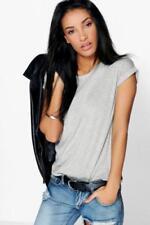 Camisas y tops de mujer de manga corta color principal gris talla 38