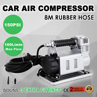 12V AIR COMPRESSOR 4X4 CAR TYRE DEFLATOR INFLATOR 160L/MIN PORTABLE