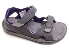 Columbia Youth Techsun Gray Purple Omni Grip Adjustable Sandals Girls Sz 3