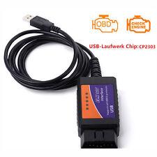 ELM327 USB Interface V1.5 OBD2 Code Reader Diagnostic Tool Auto Scanner Adapter