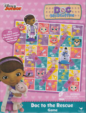 Game DOC TO THE RESCUE McStuffins Snakes Ladders Board Game Easy To Play Family
