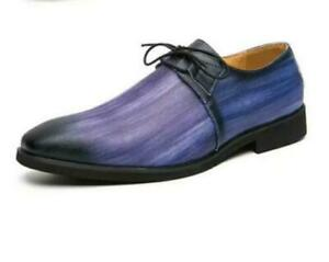 Men's Faux Leather Lace Up Chic Formal Dress Shoes Faux Leather Party Court Shoe