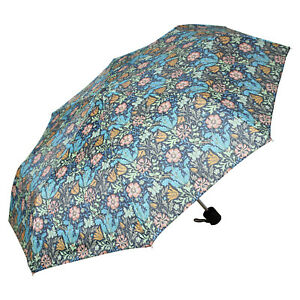 Compton William Morris Folding Lightweight Umbrella Handbag Size With Case