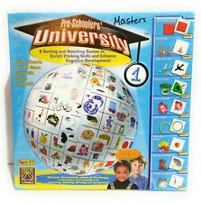 Pre-Schoolers University Matching Sorting Learning Game 2004 Creative Toys 5371