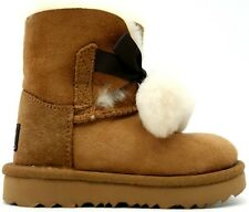 New UGG T Neumel II Boot for Toddlers Brown Chestnut Winter Boots US 8 EU 25