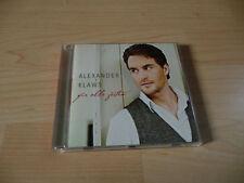 CD Alexander Klaws - Für alle Zeiten - 2011 incl. Ich glaube an Liebe