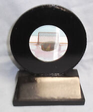 Hockey resin puck round award hologram Rm105 Jds