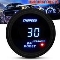 "2"" 52mm Car Digital LED Display -14-30 PSI Turbo Boost w/ Meter Sensor R5V1"