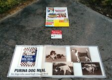 Vintage Purina Dog Chow Dogs Best Friend Sweepstakes Cardboard Display NOS
