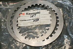 N99) Kawasaki GPX 750 VN 900 Acero Laminilla Embrague 13089-27 Clutch Steel Disc