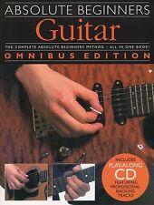 Absolute Beginners Guitar Omnibus Ed; Dick, A & Bennet, J, FMW - AM974468