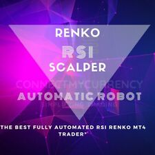 RSI Renko Scalper MT4 TRADING SYSTEM / TRADING SYSTEM + UNLIMITED LICENSE
