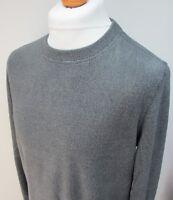 Men's Gerry Fleece Sweater Pullover Crew Neck Blue Red Grey S M L XL XXL BNWT