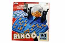 Bingo Game Machine LOTTO Lottery Number 90 Numbered Balls 48 Playing Card Family