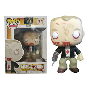 Funko Pop Television The Walking Dead Merle Dixon #71 Action Figure Toy