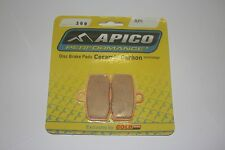 APICO 308 - TRIALS FRONT BRAKE PADS- GASGAS PRO RACING (FORMULA CALIPER) 2012 ON
