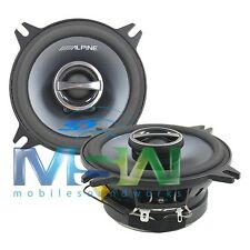 """ALPINE® SPS-410 4"""" 2-WAY TYPE-S COAXIAL CAR AUDIO SPEAKERS SPEAKER PAIR SPS410"""
