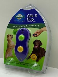 Petsafe Clik-R Duo Pets Training Tool S414-2408 Great for Dog & Other Animals