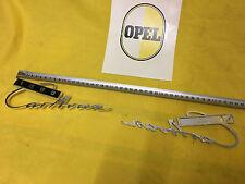 NEU + ORIG Opel Kadett C Kombi A Caravan 1000 Emblem Chrom 1000er Schriftzug