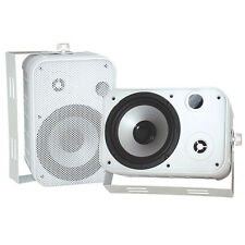 "Pyle PDWR50W 6.5"" Indoor/Outdoor Waterproof Speakers (White) (Pair)"