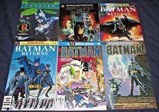 BATMAN MOVIE LOT (NM) 6 Issues DC Joker Catwoman Penguin Michael Keaton