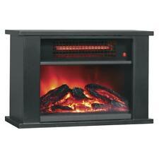 1000W Electric Desktop Quartz Infrared Space Heater Realistic Flame Home Warmer