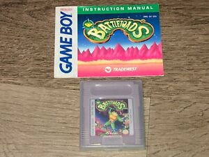 Battletoads w/Manual Nintendo Game Boy Cleaned & Tested Authentic