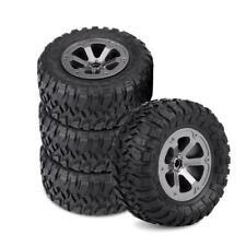 Crawler Reifen Felgenset Attack mit 6-Speichenfelge Schwarz 1:16 4 Stück