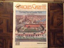 Baltimore Orioles Gazette news magazine