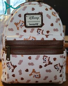 Exclusive Loungefly Chip n Dale AOP Mini Backpack