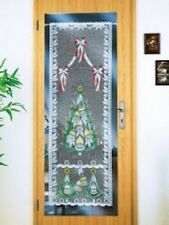 1 Stück Tür-Gardine Weihnachten je 160×60cm Scheibengardine Adventszeit Advent