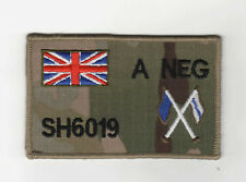 "MULTICAM MTP ZAP BADGE + UNION JACK,SIGNALS, SIZE: 4"" x 2.5"" Hook+loop backed"