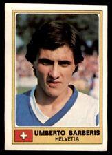 Panini Euro Football 77 - Umberto Barberis Helvetia No. 125