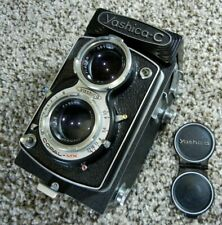 Vintage YASHICA-C TLR Twin Lens Film Camera with case