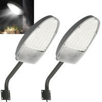 2x Road Street Flood LED Light Garden Lamp Outdoor Yard led security Lighting