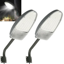 2x Road Street Flood LED Light Yard Garden Lamp Outdoor led security Lighting
