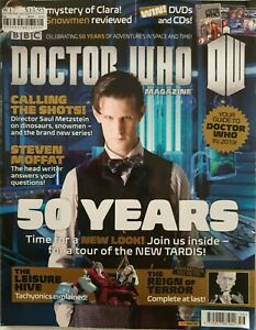 Dr Doctor Who Magazine Issue 456 February 2013 50 years Steven Moffat Tardis
