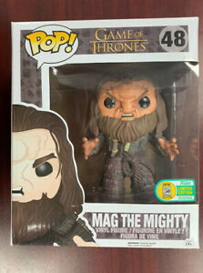 Funko Pop Game of Thrones SDCC Exclusive MAG THE MIGHTY Vinyl Figure 60 GOT