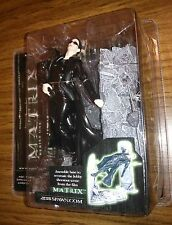 Trinity Lobby Scene! The Matrix Series 1 Mcfarlane Toys 2003 Rare! Nice!