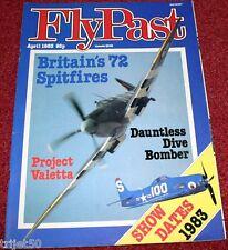 Flypast 1983 April Spitfire,Sandringham,Dauntless,Carnaby,Denmark