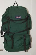 Jansport Made in USA Briefcase Convertible Back Pack Bag Green Large 26x17