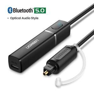 UGREEN Bluetooth Transmitter 5.0 TV Headphone Aux SPDIF 3.5 Jack Optical