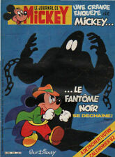 journal de MICKEY n°1540 fantome noir condorman midas